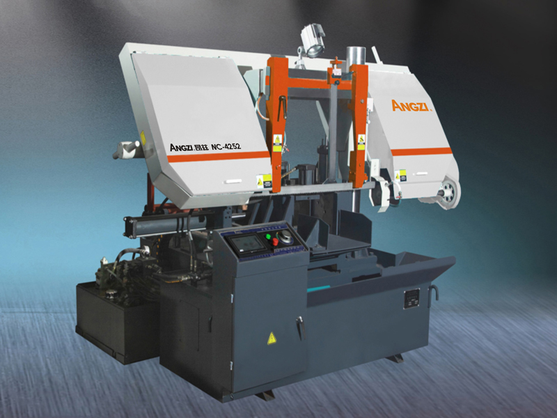 NC-4252Horizontal NC Dual Column Band sawing Machine