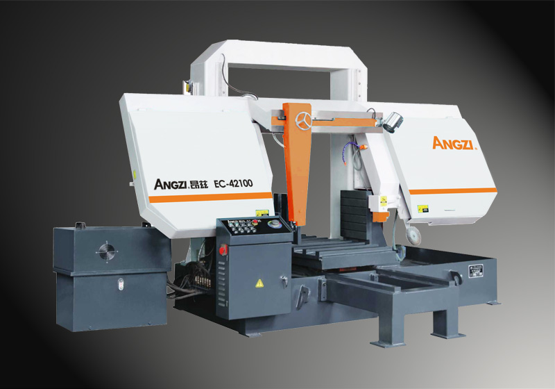 EC-42100 Gantry Type Semi-automatic Band Sawing Machine