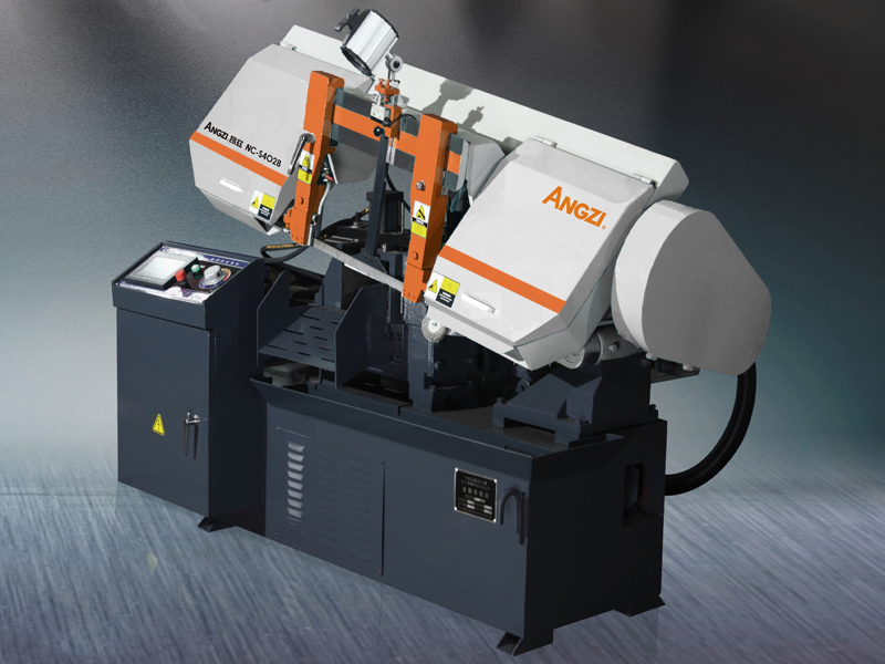 NC-S4028 Scissors Type Full-automatic Horizontal Band Sawing Machine
