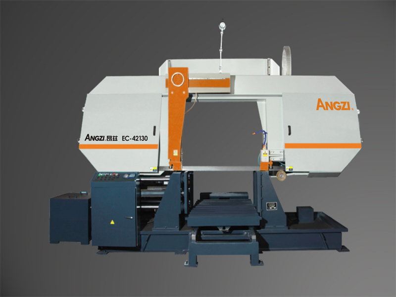 EC-42130 Semi-automatic Gantry Type Band Sawing Machine