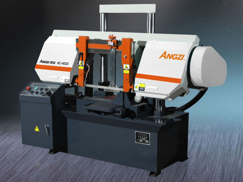 EC-4232 Semi-automatic Double Column Band Sawing Machine