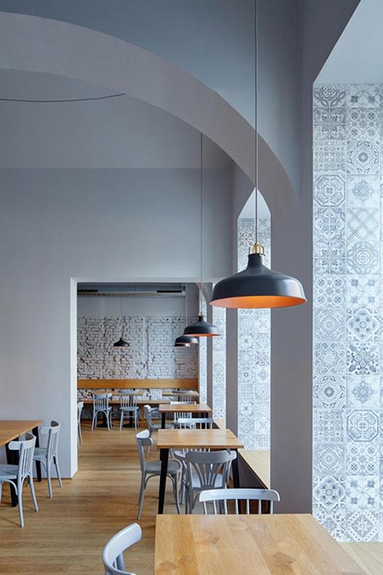 感受浪漫温馨北欧风餐厅