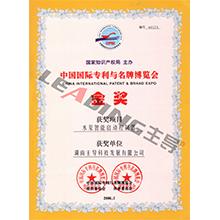 中国国际专利与国际博览会金奖
