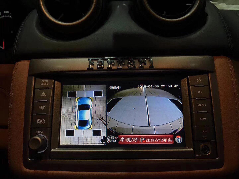 法拉利安装车视野4K极致超清360°全景记录仪