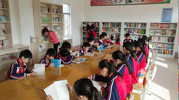 雪蘭方慈善基金會為廣東廉江市石頸鎮平山小學捐書助學