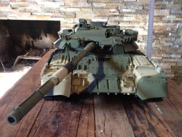 军事迷的福音!3D打印T80主战坦克
