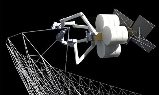 我国明年试验在轨空间3D打印,将来可在太空建天眼