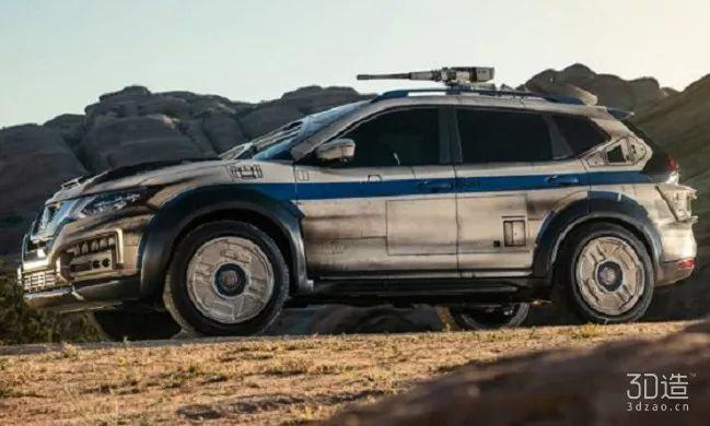愿原力与你同在,星战同款3D打印概念车面世