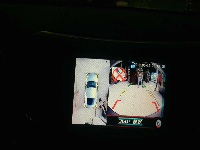 Jeep自由光安装车视野360度全景行车记录仪案例