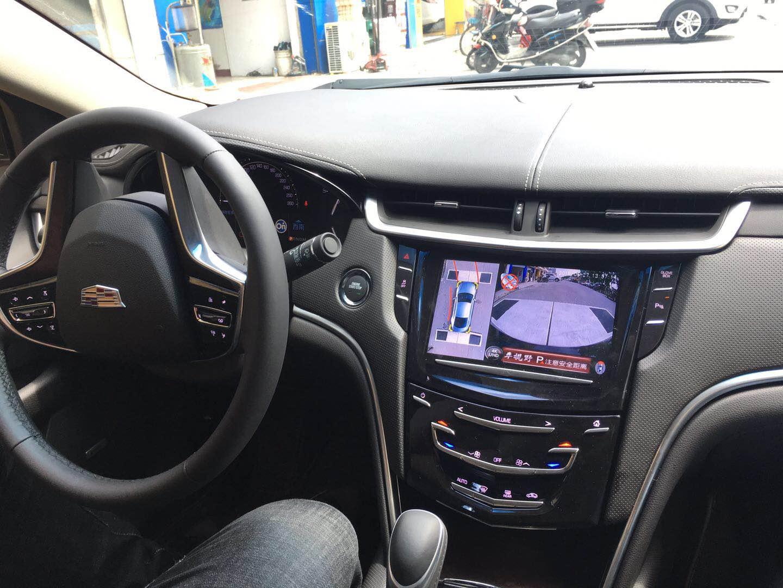 凯迪拉克安装车视野360度行车记录仪