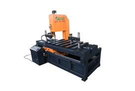 Vertical sawing machine FS40*60*150 back view