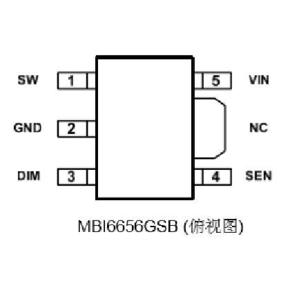 MBI6656GSB