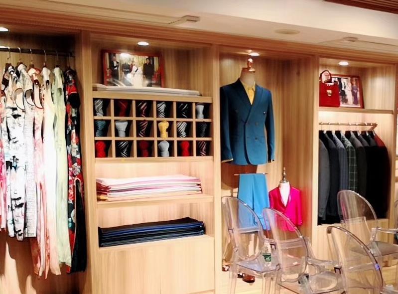巴蒂米澜服装私人订制湖南总代理(长沙店)盛大开业