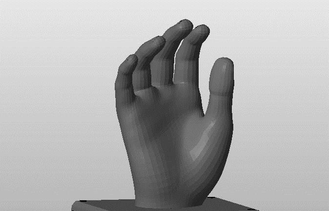 钥匙总是找不到?3D打印的手形钥匙架了解一下