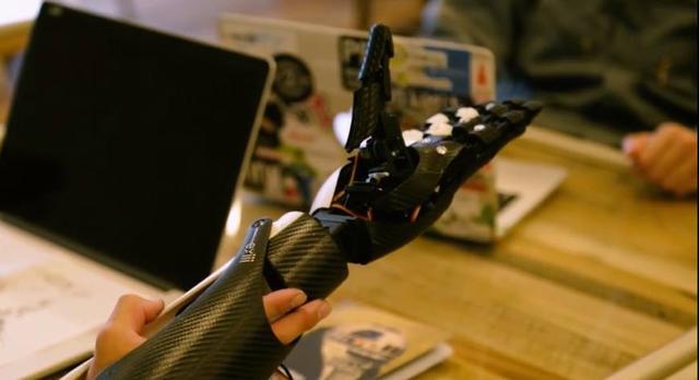 造福社会的创举:3d打印高灵敏仿生手臂