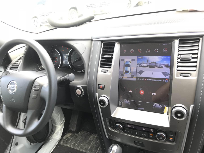 日产途乐安装车视野360度全景行车记录仪