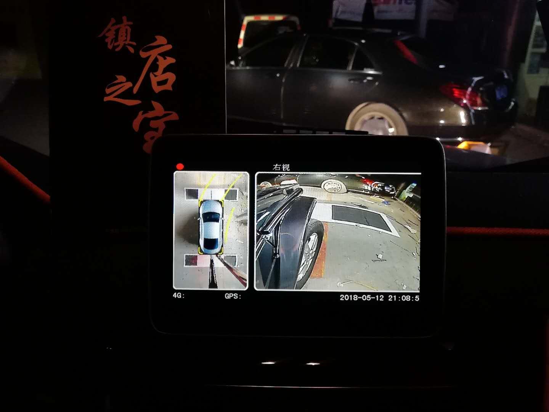 奔驰G500安装车视野4K超清全景