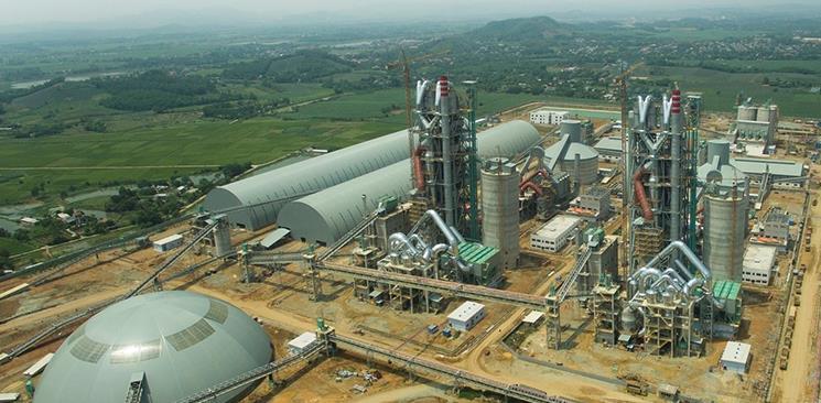 越南龙山2x6000t/d 水泥生产线总包项目