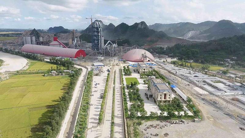 越南成胜6000t/d水泥生产线总承包项目及7MW余热发电工程