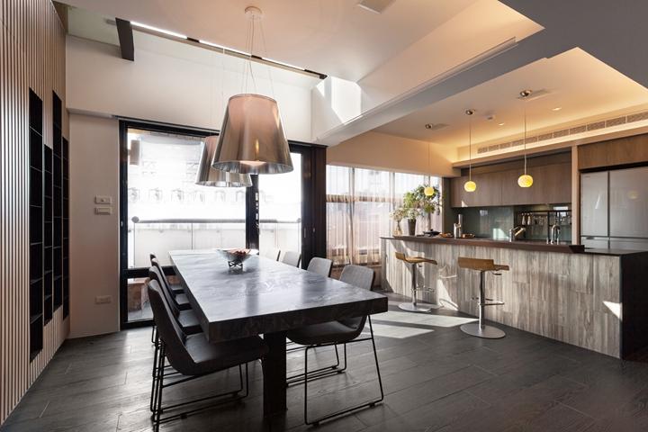多木色家具极简居家空间