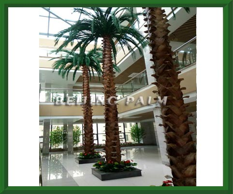 我司目前完成了位于哈尔滨嘉润医院的仿真景观装饰项目