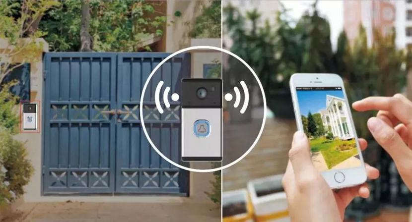 爆款推荐 | 可视无线对讲,移动侦测报警,这款门铃就问小偷怕不怕?