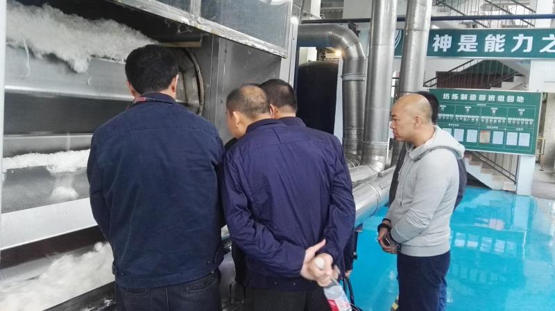 公司刘董申总朱总在成都清白江丽雅化工调研工业污水处理