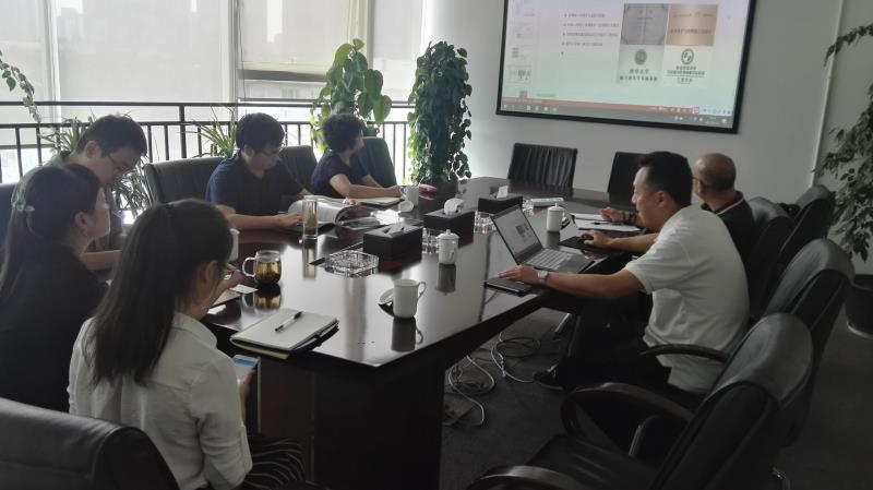 2017年10月公司申总李总赴成都排水公司作水体治理技术交流