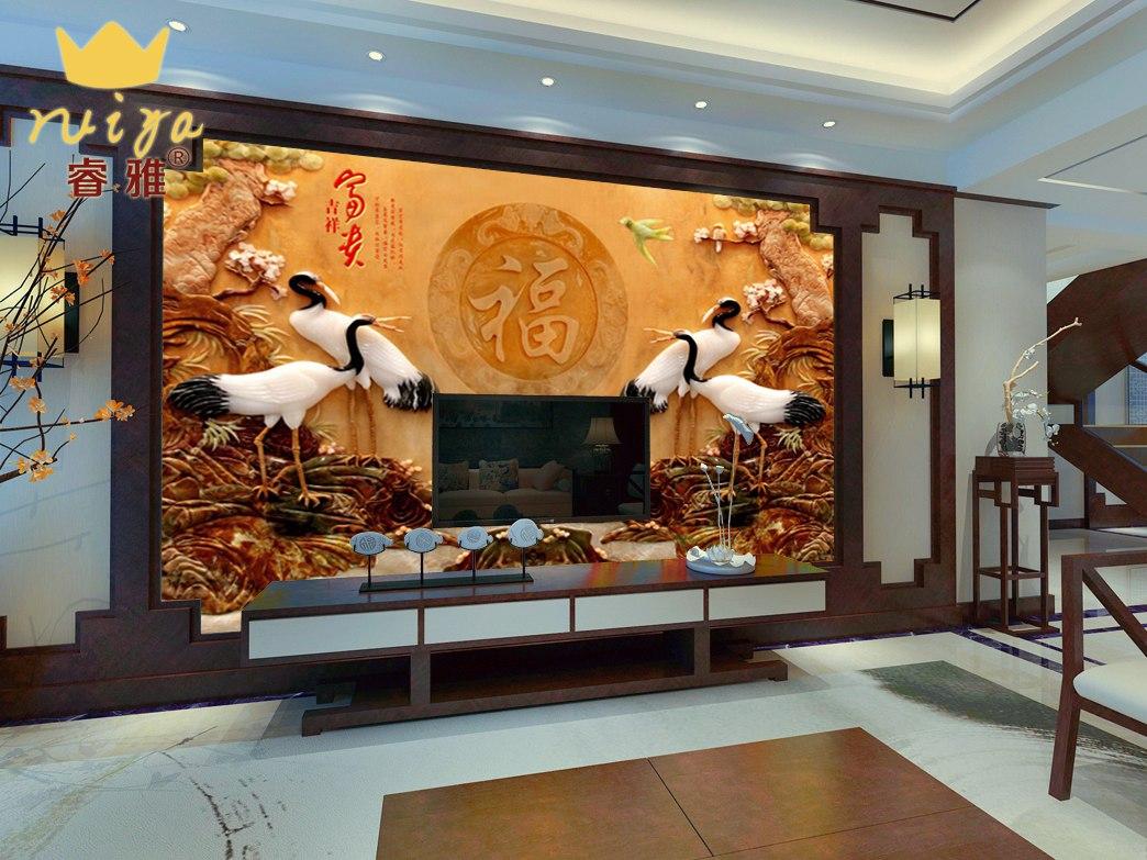 富贵吉祥129 工艺:平面UV150元/m²