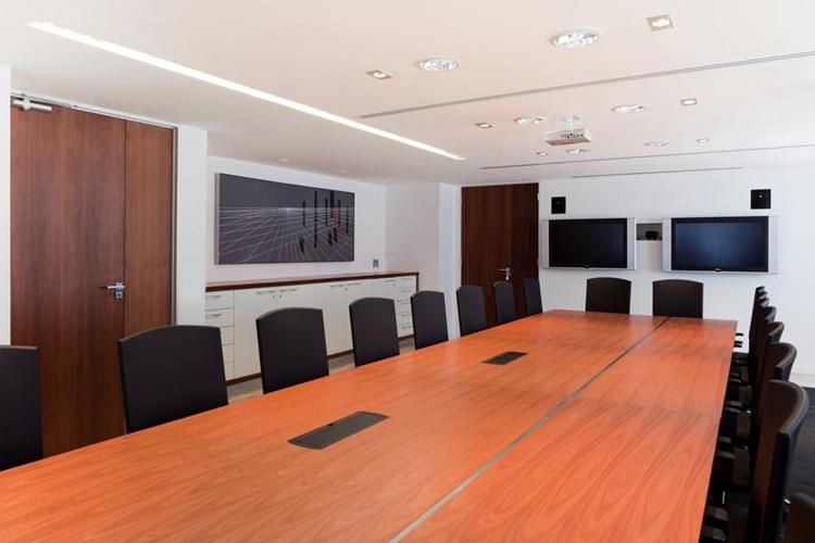 办公室怎么用红胡桃木饰面来装饰才好