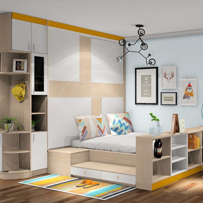 单身贵族 筑巢小家 单身公寓效果图