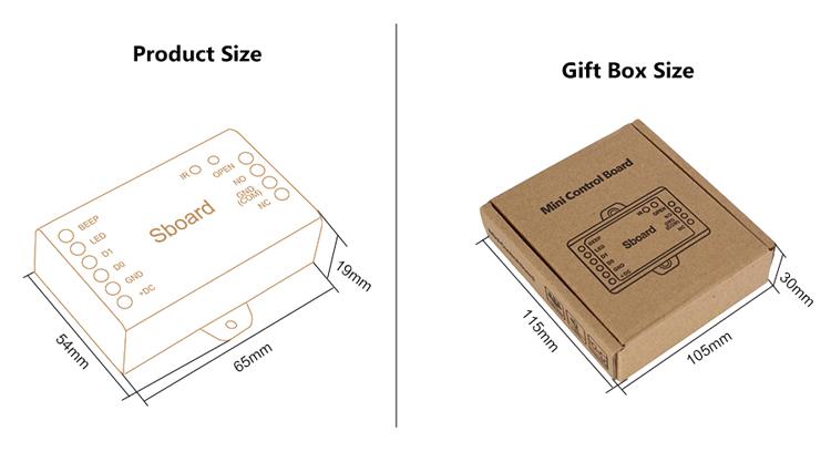 Bluetooth Single door Access Controller