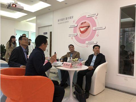 金知网总经理安烽陪同省工商局王吉德局长调研商标品牌工作