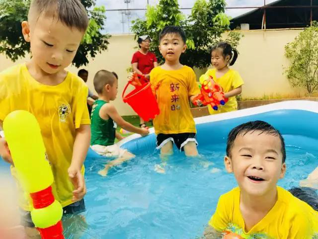 广州安星财富联手新星幼儿园打造别样儿童节体验~