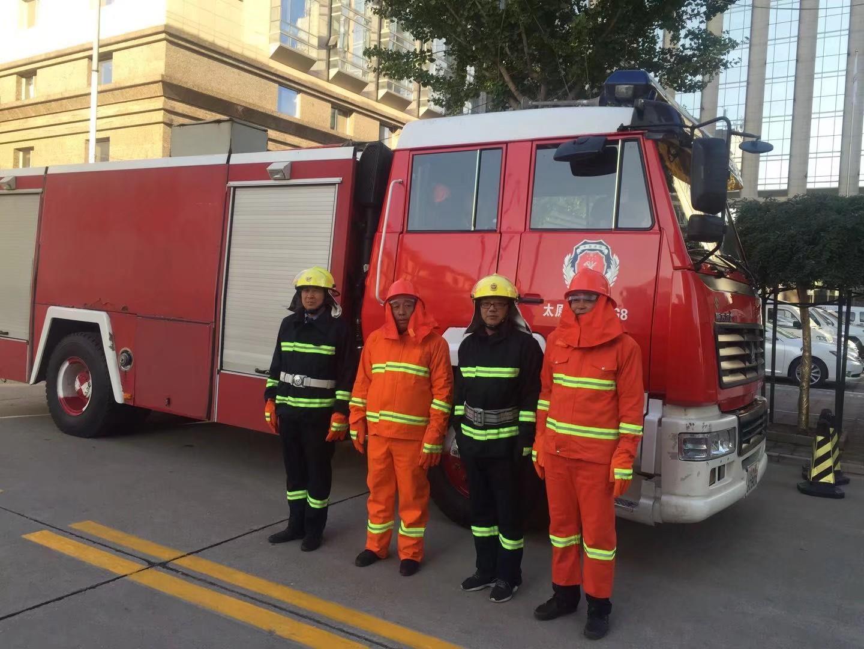 义务消防队员风采展示