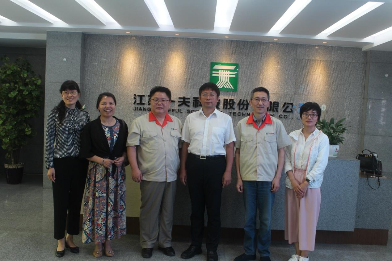 中国环境科学学会王志华秘书长来我司考察指导工作