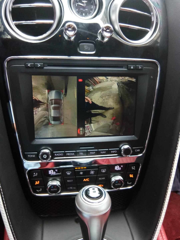 宾利欧陆安装车视野360度全景行车记录仪案例