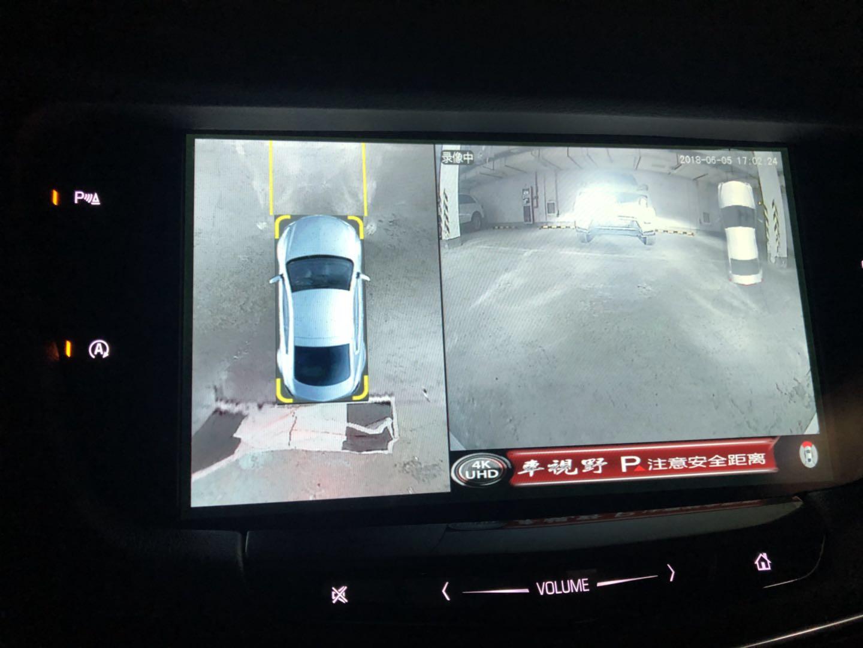 凱迪拉克CT6安裝車視野360度全景行車記錄儀案例