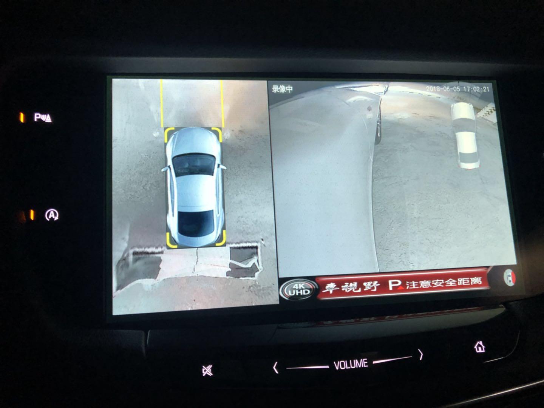 凯迪拉克CT6安装车视野360度全景行车记录仪案例