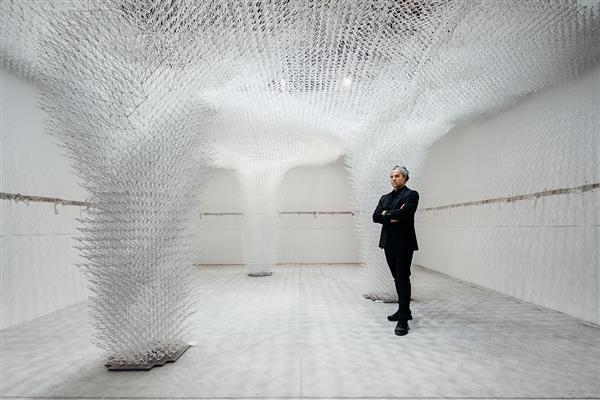 """威尼斯双年展惊现世界上最大3D打印结构的""""云端凉亭"""""""