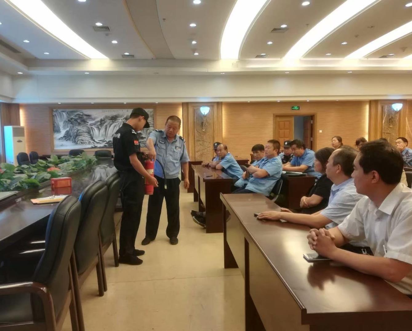 高新分公司消防培训