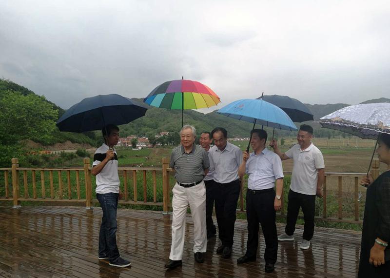 国家工商总局副局长付双建等 领导指导奥福大健康旅游项目
