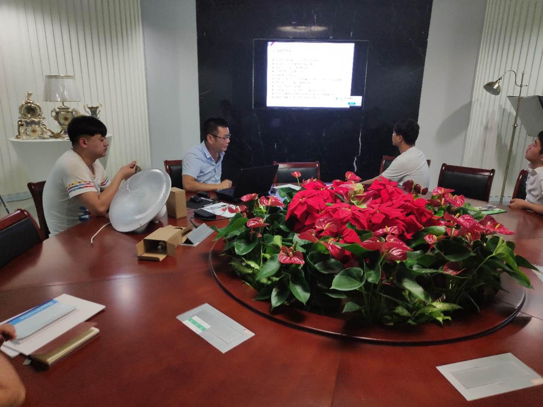 浙江万博足彩app第三季度销售部新人培训
