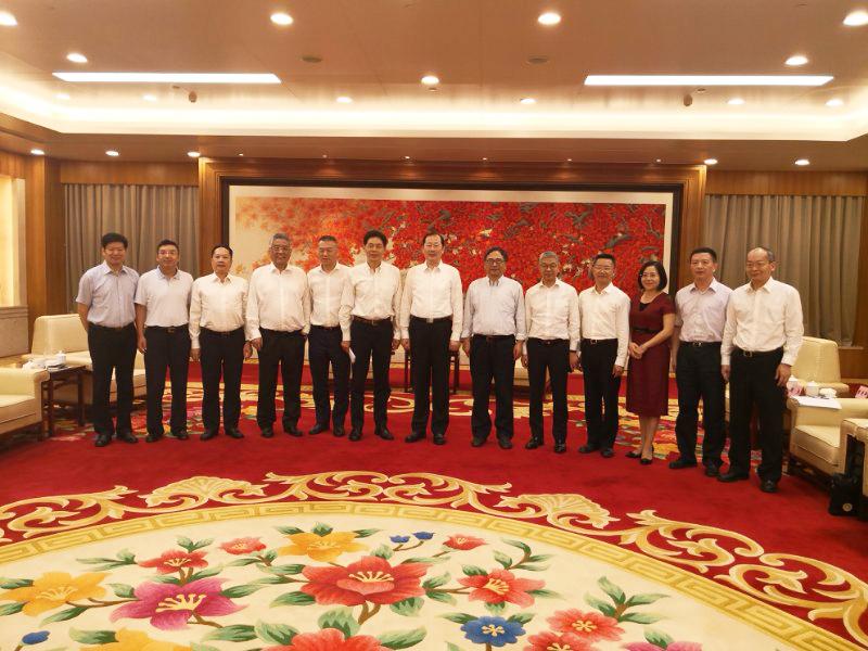 Secretary Ren Xuefeng Met with CCYIA Delegation