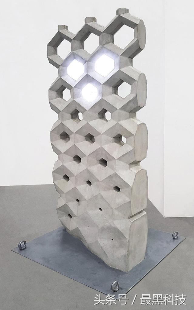 """你用3D打印造玩具,他们却发明出全球首个""""智能混凝土墙"""""""