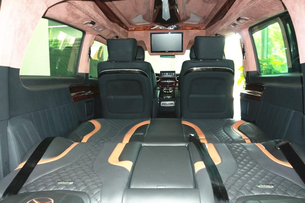 奔驰|V250高顶置顶电视商务车