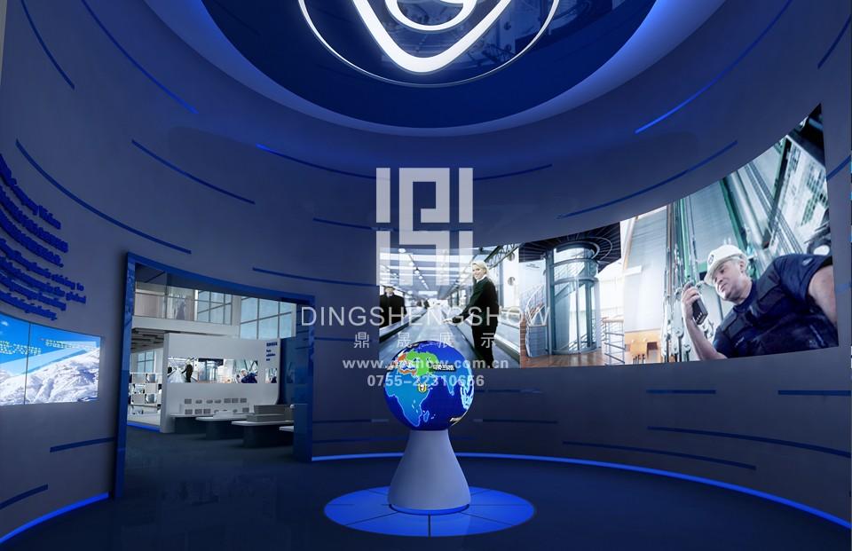 蒂森克虏伯扶梯(中国)有限公司企业展厅