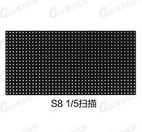 户外表贴S8 5扫全彩LED显示屏