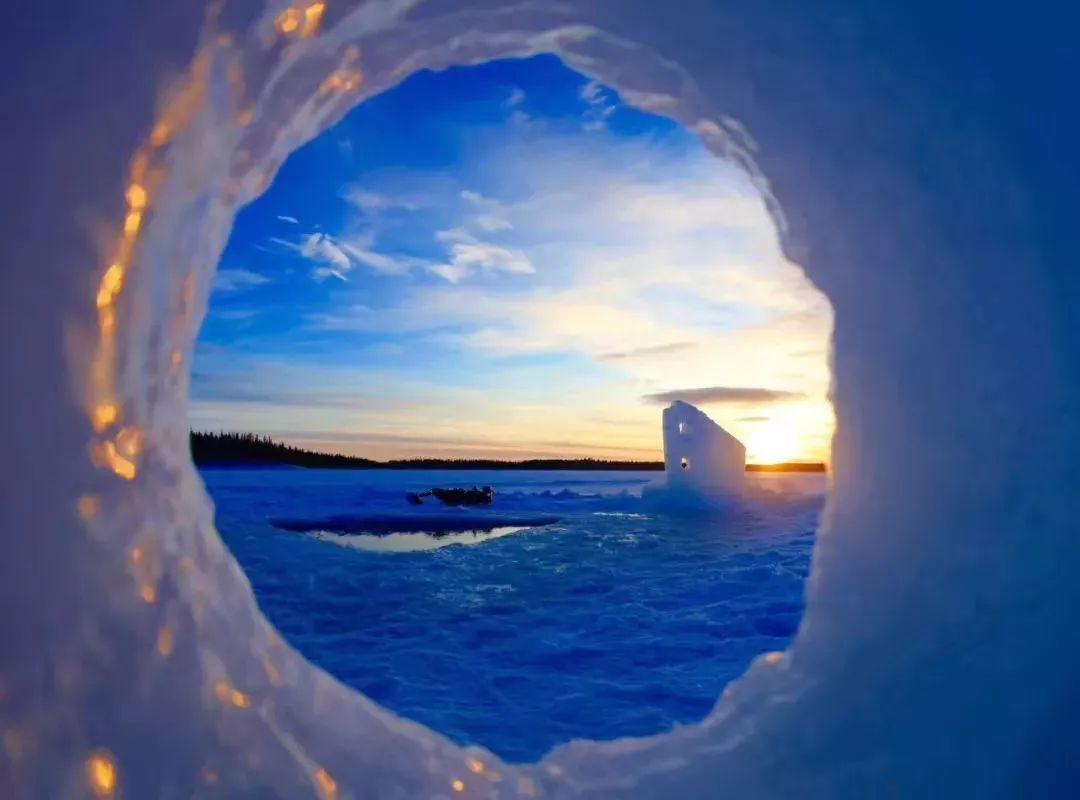 你在南方的艳阳里四季如春,我们的老师却在北极已冻僵!