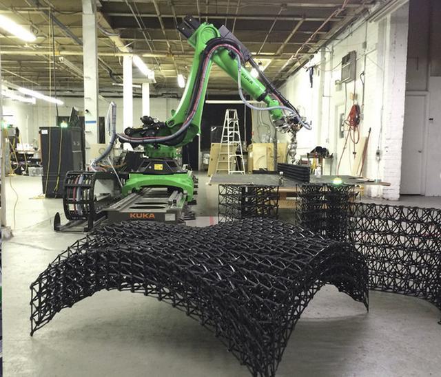 一个大型3D打印建筑是怎样完成的